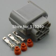 1set Headlight socket height adjustment motor FOR accord 3 core electrical plug connector(China)