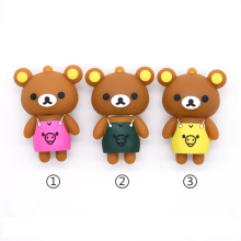 cute cartoon girl bear pendrive usb 2.0 4GB 8GB 16GB 32GB 64GB usb flash drive pink memory stick pen drive U stick