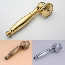 golden antique silver brass hand shower head