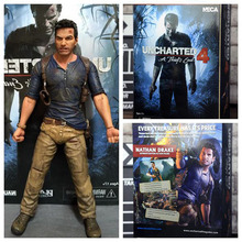 Uncharted 4: A Thief 's End Nathan Drake Action Figure PVC 7 inch Model Collector's Edition Toy Gift(Chinese Version)(China)