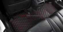 NEW!! For BMW X3 E83 2006 -2010   Quality Accessories Interior Leather Carpets Cover Car Foot Mat Floor Pad 1set