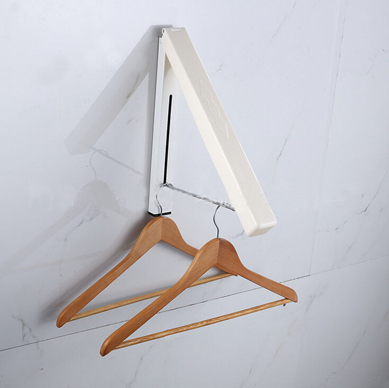 Hidden type ,Folding multifunctional clothes hanger,Load bearing: 30KG Home Furniture Convenience Beautiful CP389<br>