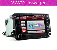 Factory Price Free Shipping Car DVD Player For VW/Volkswagen/Passat/POLO/GOLF/Skoda/Seat With 3G USB GPS BT IPOD FM RDS Free Map