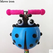 Ladybug Children's Scooter Basket Kids Bike Bag on Fram Basket for A Bicycle Bike Accessories Trunk Front Funda Bicicleta Bolsa