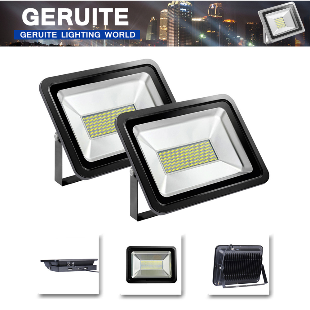 2pcs Led Flood Light Outdoor Lights 150W 220V 9000LM 300LED SMD5730 Floodlights For Street Square Highway Outdoor Wall Billboard<br>
