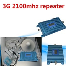 Best Price W-CDMA 2100Mhz 3G Repeater Mobile Phone 3G Signal Booster WCDMA Signal Repeater Amplifier + Cable + Antenna