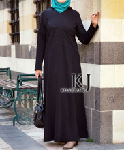 traditional turkish clothing Muslim Long Sleeve Maxi Dress Knitting Islam Kaftans for Women Dubai Abaya KJ-WAB3003