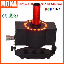 250w Co2 Jet with RGB LEDs CO2 cold fog machine for Special Effects stage Disco Night club DJ party