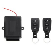 HOT Sale 433.92MHz  Car Auto Remote Central Kit Door Lock Locking Vehicle Keyless Unlock Entry System With Remote Controllers