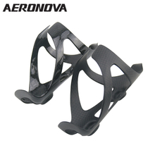 Road Bicycle Bottle Holder Carbon Bottle Cage 3K AERONOVA Carbon Fiber MTB Mountain Bike Water Bottle Cages Super Light(China)