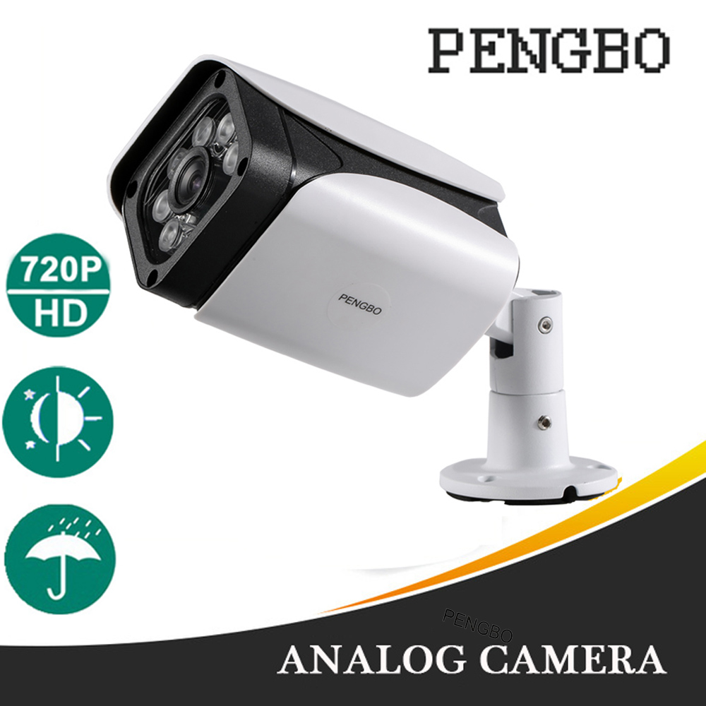 Analog CCTV Camera 1200TVL Bullet IP67 Waterproof HD IR Cut Filter Night Vision Security camera<br>