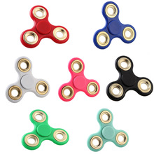 Buy EDC Toys Triangular Hand Spinner High Metal Profession Hand Spinner ADHD Tri Spinner Cool Fidget Spinner for $1.72 in AliExpress store