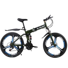 ALTRUISM X9 Pro Steel 24 Speed 26 Inch Folding Bike 3 Spokes Mountain Bike Road Bicycle Mountain Bikes(China)