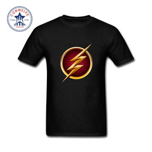 2017 Hot sale  Cool The Flash Logo Fashion Clothes CasualCotton funny t shirt for men