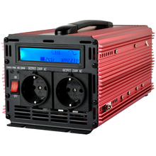 Inverter 24V to 220V pure sine wave inverter 1500W/ 3000W peak with 10A charger and UPS function(China)