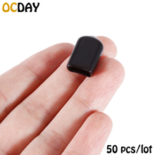 50pcs/lot Rubber Terminal Insulated Black Protective Cover Caps Case Suitable for XT30 XT60 Plug(China)