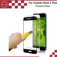 For Huawei Nova 2 Plus Tempered Glass Steel Film Thin Front Full Cover Screen Protector For Huawei Nova 2 Plus Phone Accessory