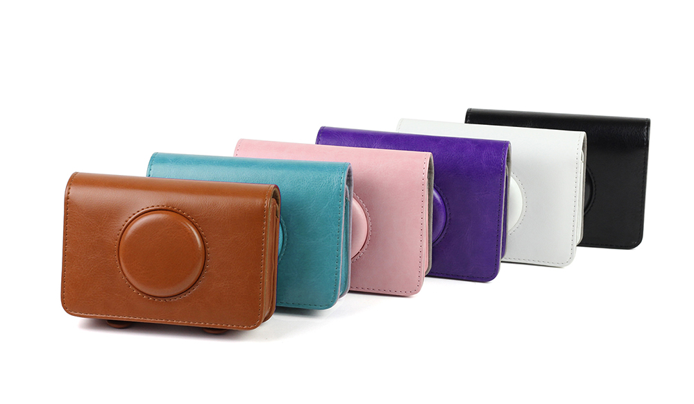 Colorful High Quality PU Leather Bag Camera Retro Protective Case Cover For Polaroid Snap Touch Model Cameras