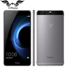 Original Huawei Honor V8 4G LTE Mobile Phone 4GB RAM 64G ROM 5.7 inch Android 6.0 Kirin 950 Octa Core Dual Rear 12.0MP 3 Camera(China)