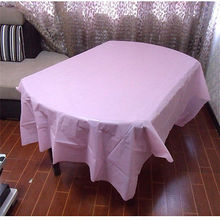 "Plastic Tablecloth Birthday Party Waterproof Table Cover Evening Party Supplies Rectangle Tableware 137"" x 274"""