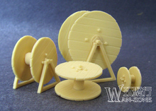 Toy 1/35 Resin Models Soldier Cable Reel  Model Free Shipping