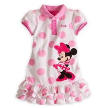 Summer Cute Vestido Minnie Princesa Sofia Girls' Dresses Infant Party Dresses Kids Clothes Children's Clothing Baby Girls Dress