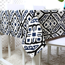 2016 New Arrivel Nation Wind Pope Geometric Cotton Tablecloth Table Cloth High Quality Table Cover manteles para mesa