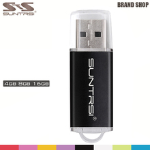 Suntris USB Stick High Speed Metal USB Flash Drive 4G 8G 16G Pen Drive Original Memory Stick Pendrive Colorful USB Stick