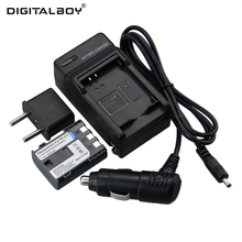 Hot Sale (4pcs/set) 1xNB-2L NB 2L NB2L NB-2LH Camera li-ion Battery+Charger+Car Charger for CANON 350D 400D G7 G9 Z1(China)