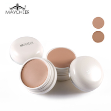MAYCHEER Brand Flawless Face Concealer Cream SPF30 Oil-Control Scars Freckles Black Eye Full Cover Makeup Face Base Foundation(China)
