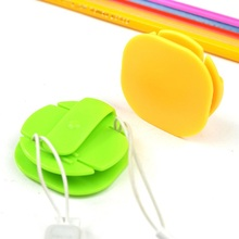 1PC Trending hot sale products Earphone Accessories plastic Headphone cable reel holder