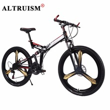"Altruism X6 Mountain Bicycle Brand New High Quality Bicicleta 21 Speed 26"" Mountain Bike Racing Double Disck Break Cycling(China)"
