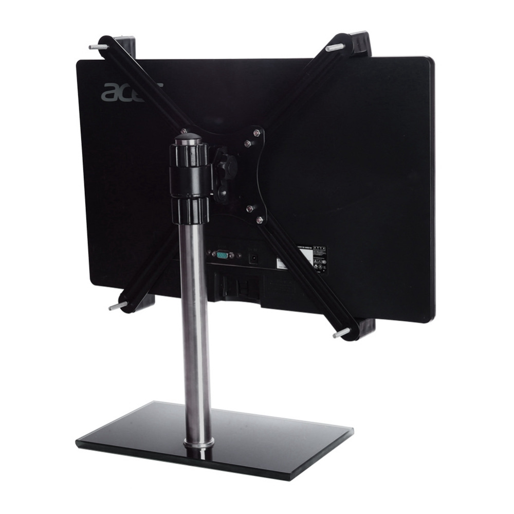 For 14-27 inch LCD Monitor No Mounting Hole LCD Display Extension VESA Adapter Fixing Bracket Monitor Holder Support Mount (7)