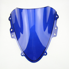 Motorcycle ABS Plastics Blue WindScreen Windshield Deflector For Suzuki GSXR600 GSXR750 GSXR 600 GSXR 750 K4 2004-2005 04 05(China)