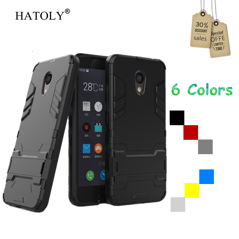 Case Meizu M5c Cover Robot Armor Hard Back Rubber Phone Case Meizu M5c Cover Meizu M5c Phone Bag Meilan 5c M710M HATOLY