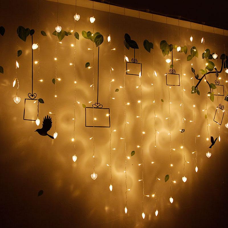 warm white string light