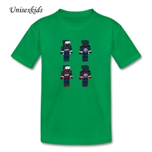 Resident Evil T-shirts Children Short Sleeve 100% Cotton T Shirts Baby Girl Boy Unique Design Quality Clothing Discount Price