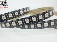 1m/2m/3m ws2812b 96led/m led strip and wireless rf 14keys led rgb controller 300 kinds of changes for ws2812 dc 5v(China)