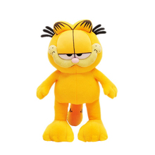 Different height High Quality yellow and lovely Garfield toy plush doll as a gift for boys and girls free shipping(China)