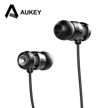 AUKEY Earphone Piston 3 Earbuds with Metal Housing In Ear Stereo Wired Earphones Bass Headset with Microphone for iPhone Xiaomi