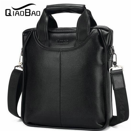 QIAOBAO Brand Men business casual mens handbag Leather shoulder bag Messenger bag Men Europe<br><br>Aliexpress