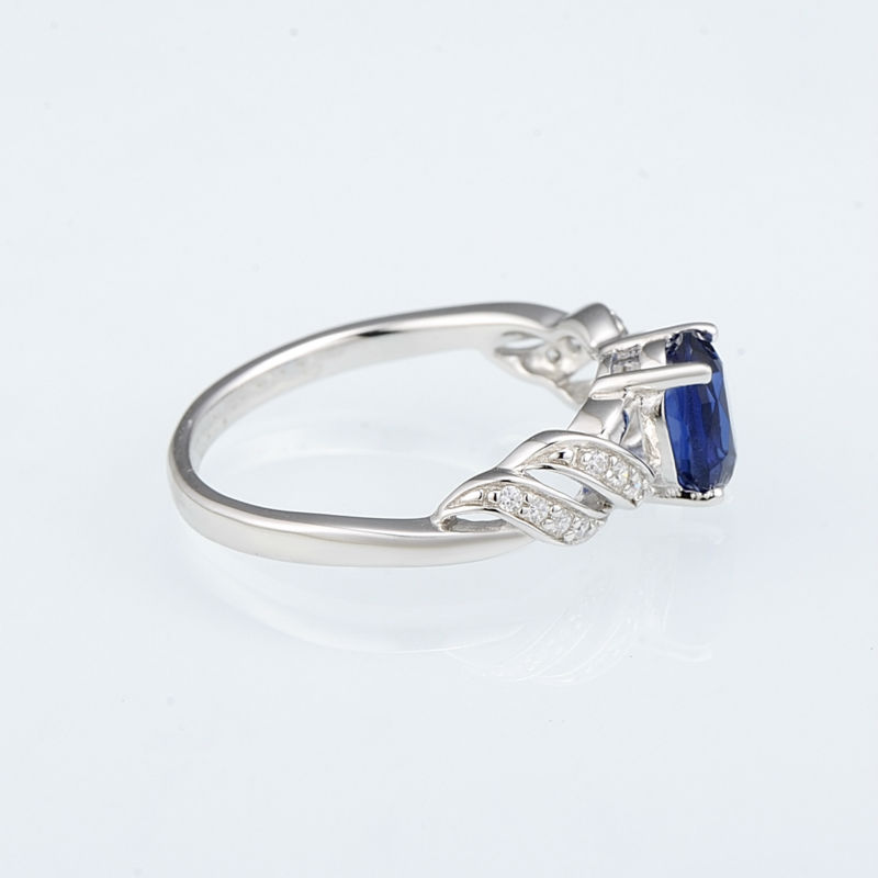 R303165BLGZSL925-SV3-Silver Ring