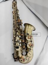 Hot Top Saxophone SELMER 54 Jazz Alto saxophone Antique bronze Boquilha Sax alto Musical instruments professional Free shipment(China)