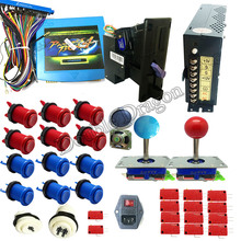 Jamma Arcade game kit pandora 4 645 in 1 arcade parts to built family controller machine or upright arcade machine