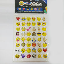 19 Pcs/Pack Funny Emoji Bag Sticker 912 Die Cut Stickers For iPhone Instagram Twitter Phone Book Wall Decoration For Baby Girls