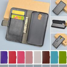 Vintage PU Leather Case For HTC Desire 326G / Desire 526 526G dual sim 526G+ Cover Book Style with Card Holder JR Brand