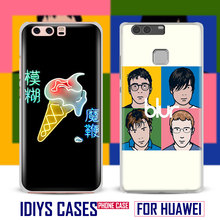 For Huawei Ascend P8 P9 Lite P10 Plus Honor 6x 7i V8 V9 Mate 7 8 9 Nova Blur Britpop Indie Rock Band Phone Case Cover Shell Bag(China)