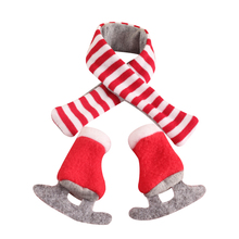 1pcs 37cm Doll Elf Plush Dolls Toys Soft Book Clothes Gift Red Boy Girl Doll On The Shelf Christmas Toys For Kid Children Toy