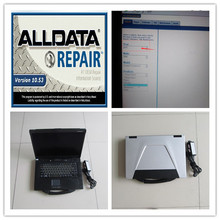 alldata repair  installed version alldata 10.53 mintchell on demand 5.8 auto software 2in1 hdd 1tb laptop cf52 ready to use