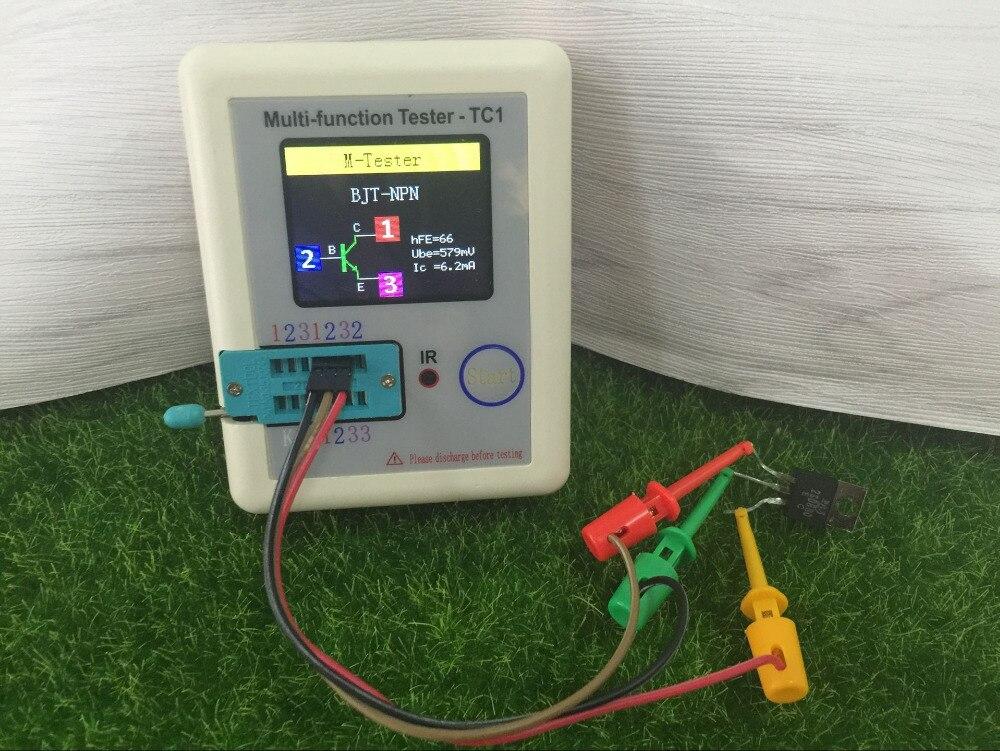 3 câble M328 3.7V LCD Transistor Testeur Triode Condensateur ESR LCR Mètre USB